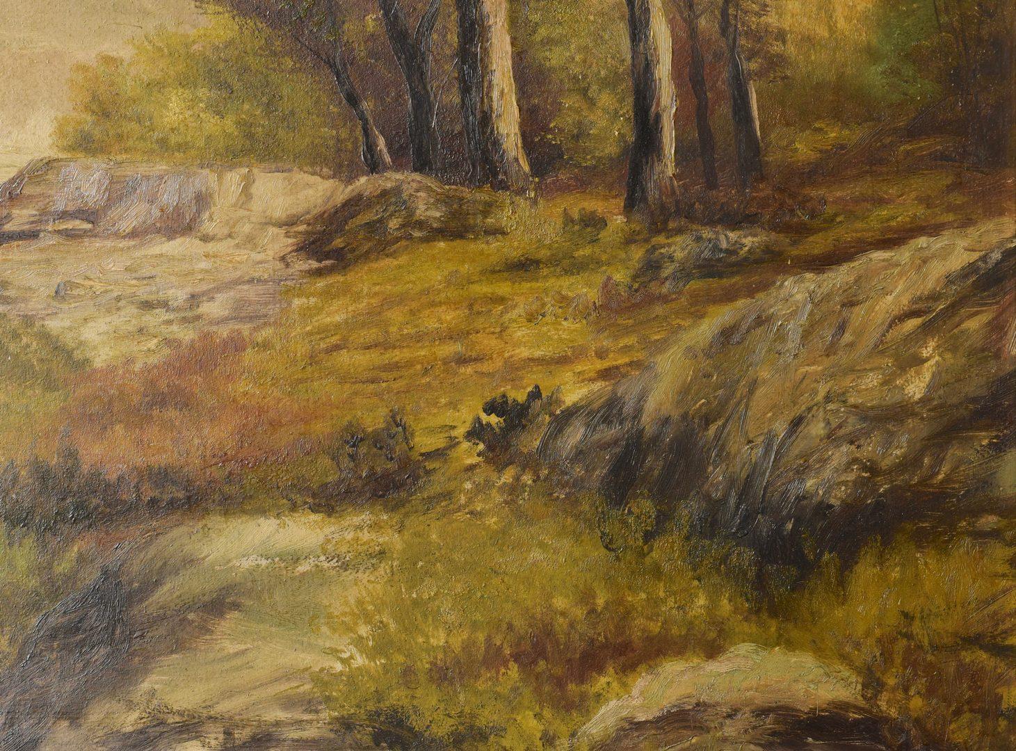 Lot 214: Washington Girard TN Oil Landscape