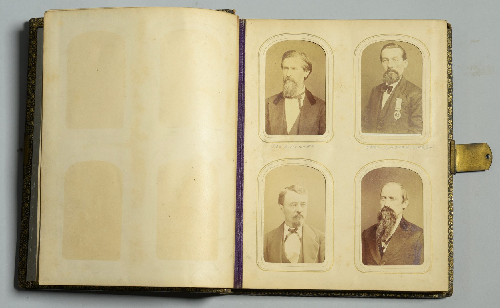 Lot 233: 2 CDV Albums: TN Legislature, 1875-76