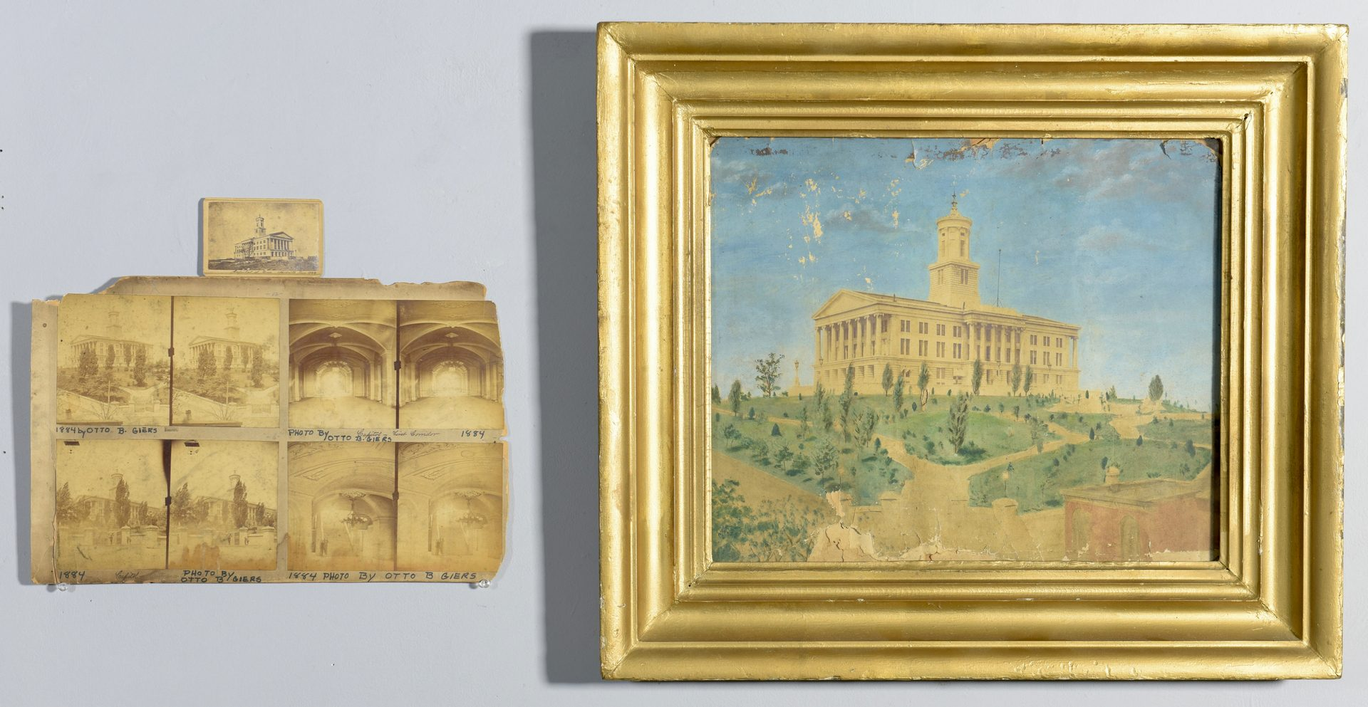 Lot 234: Early Photographic Views of TN Capitol