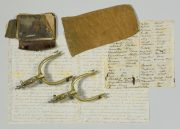 Lot 237: Gold Rush Diary, Artifacts of Ed Hicks, TN, sold $4,464