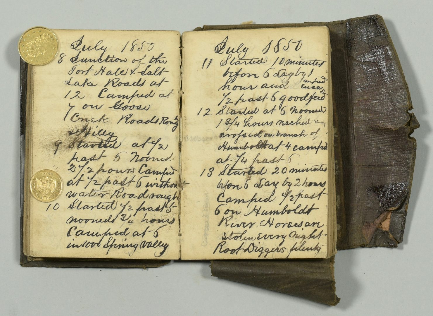 Lot 237: Gold Rush Diary, Artifacts of Ed Hicks, TN