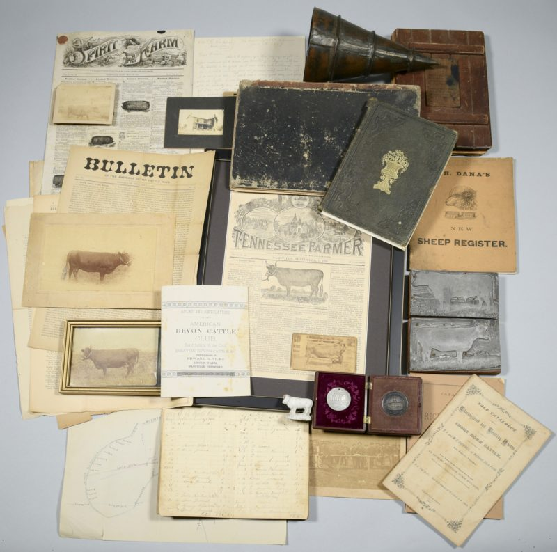 Lot 238: Devon Farm Archive