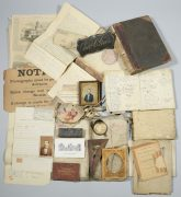 Lot 240: Giers Photo Gallery Account Books, Archive, sold $5,192
