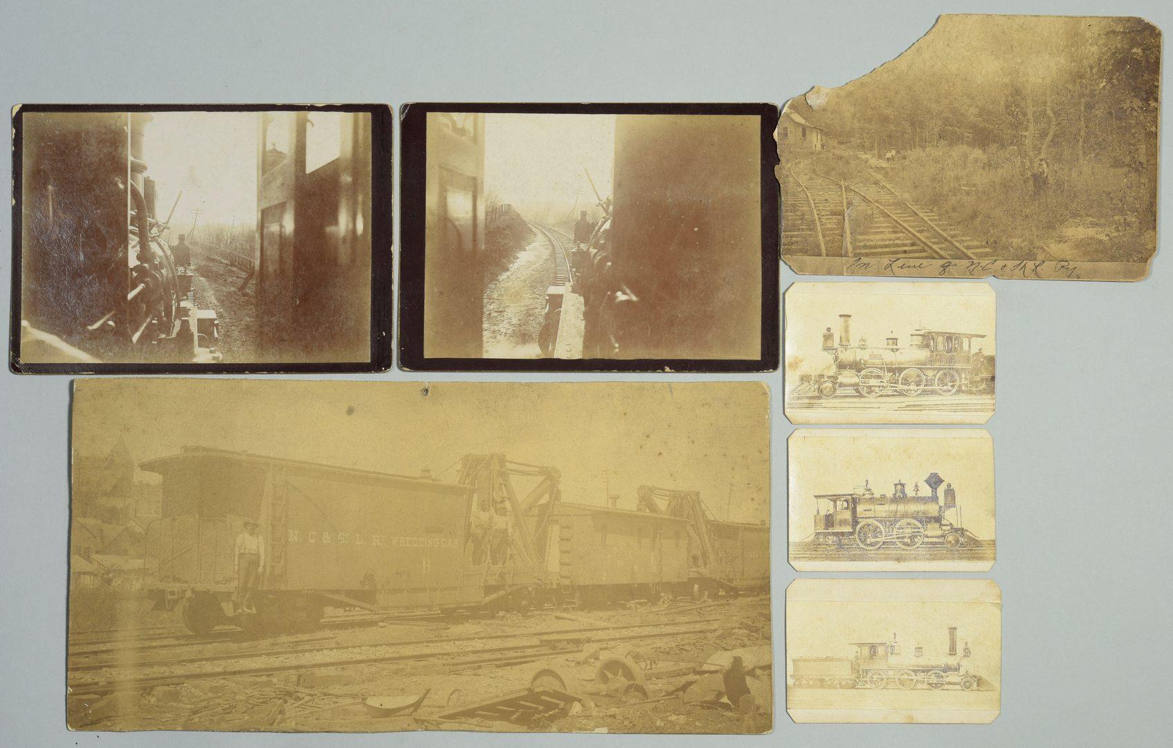 Lot 244: Nashville Railroad Ephemera