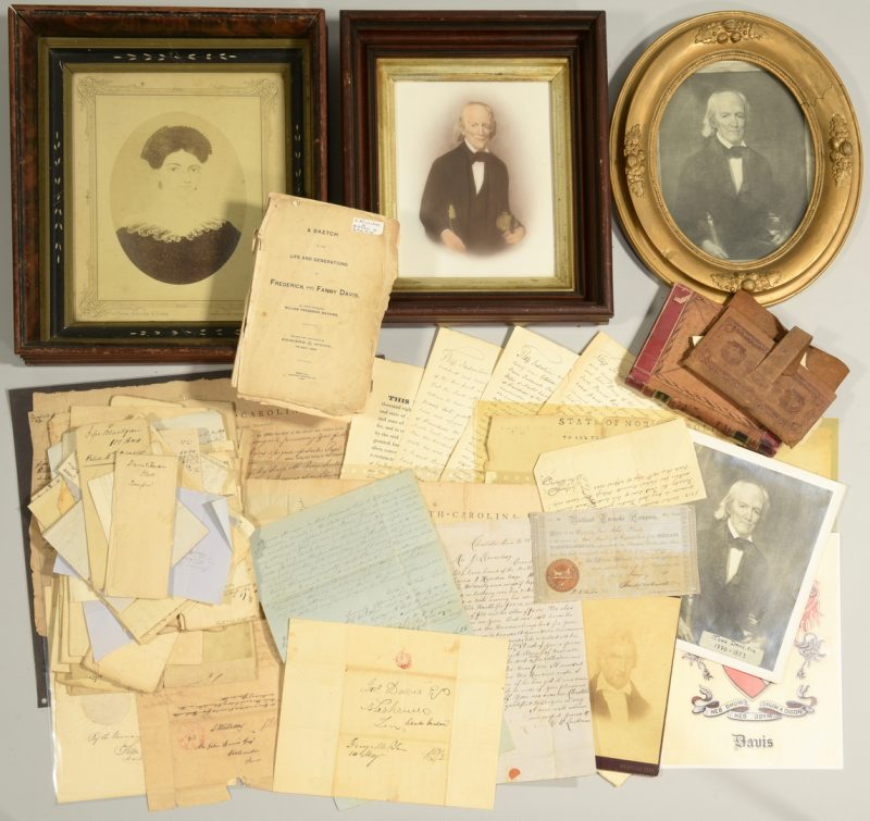 Lot 246: John Davis and Family Archive