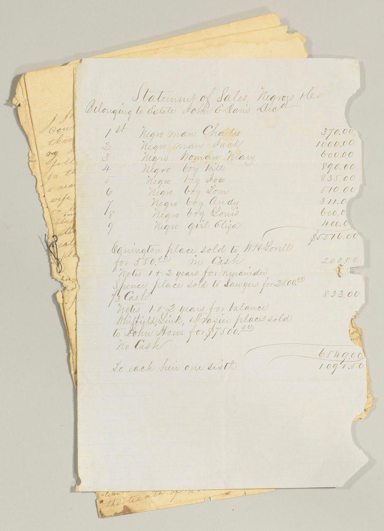 Lot 246: John Davis and Family Archive