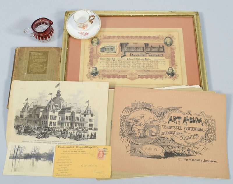 Lot 248: TN 1896 Centennial Archive