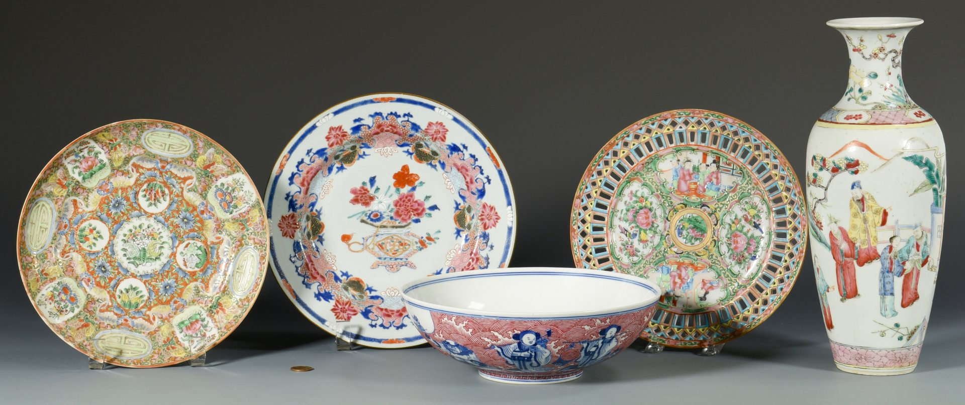 Lot 24: 5 pcs Chinese Export