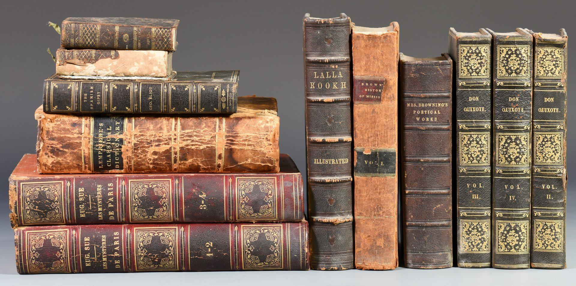 Lot 250: Books, Van Buren Letter from Hamilton Place plus photo (14 items).
