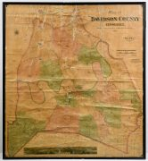Lot 260: 1871 Foster Map of Davidson County, sold $8,260
