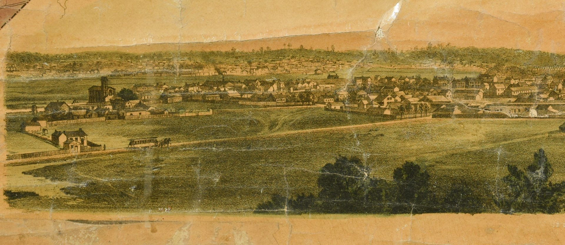 Lot 260: 1871 Foster Map of Davidson County