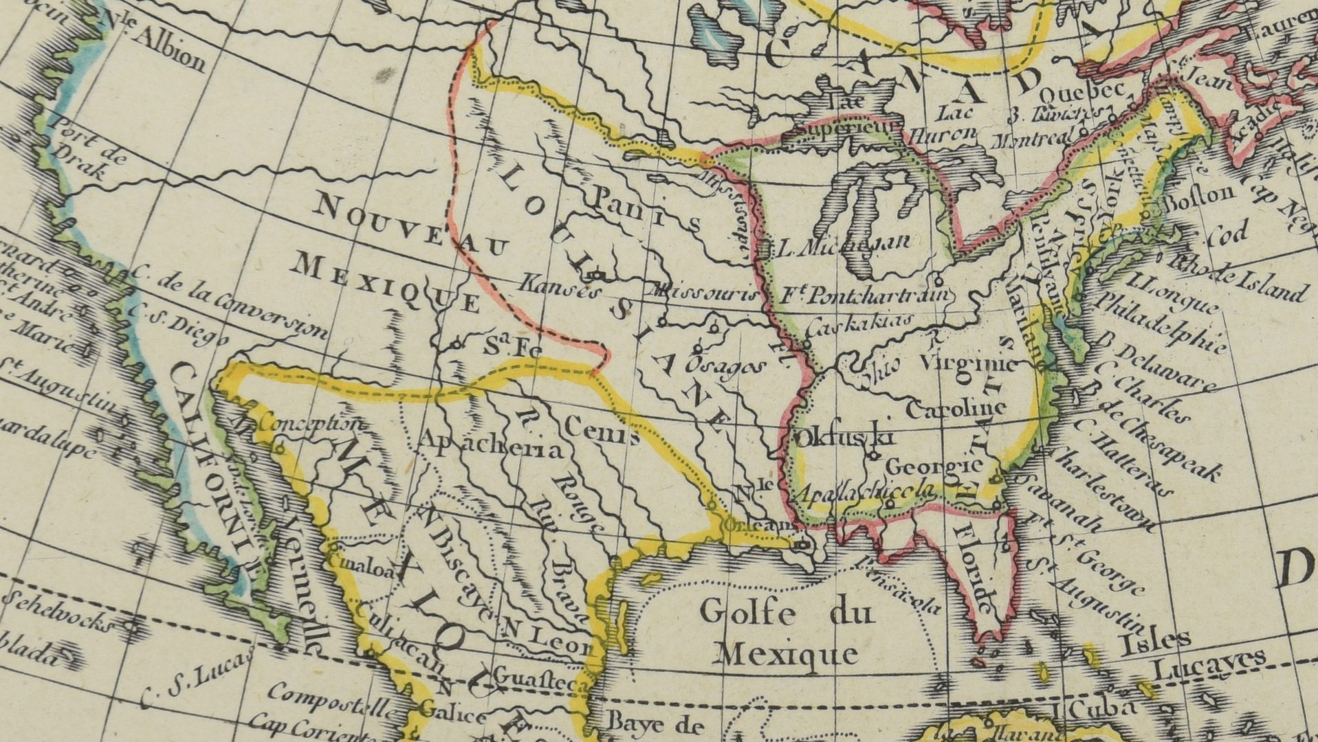 Lot 270: 2 Maps of US – 18th century