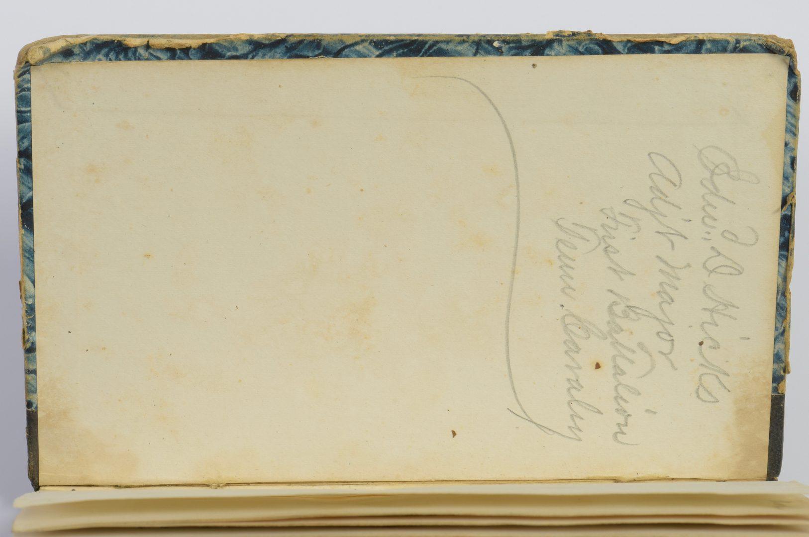 Lot 273: Civil War Troopers Manual, CSA Ed Hicks II