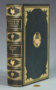 Lot 278: Abraham Lincoln Pardon, Book and Author Autographs, sold $6,608