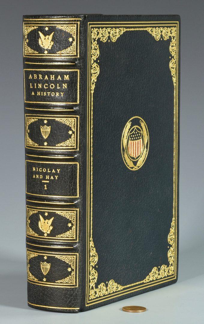 Lot 278: Abraham Lincoln Pardon, Book and Author Autographs