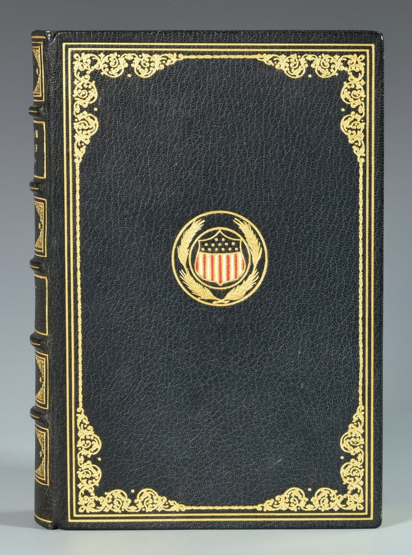 Lot 278: Abraham Lincoln Pardon, Book and Author Autographs