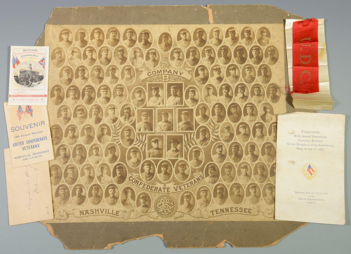 Lot 281: Giers TN CSA Veterans Photo, Inc. African American