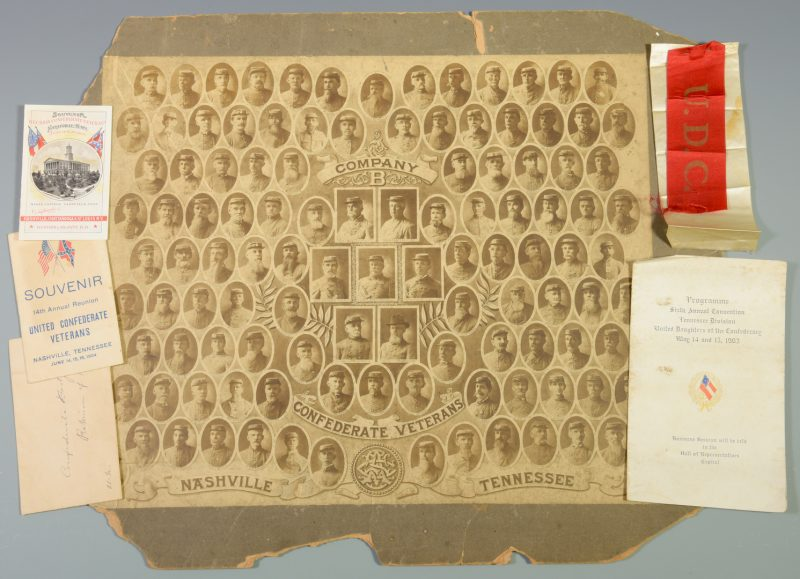 Lot 281: Giers TN CSA Veterans Photo, Inc. African American