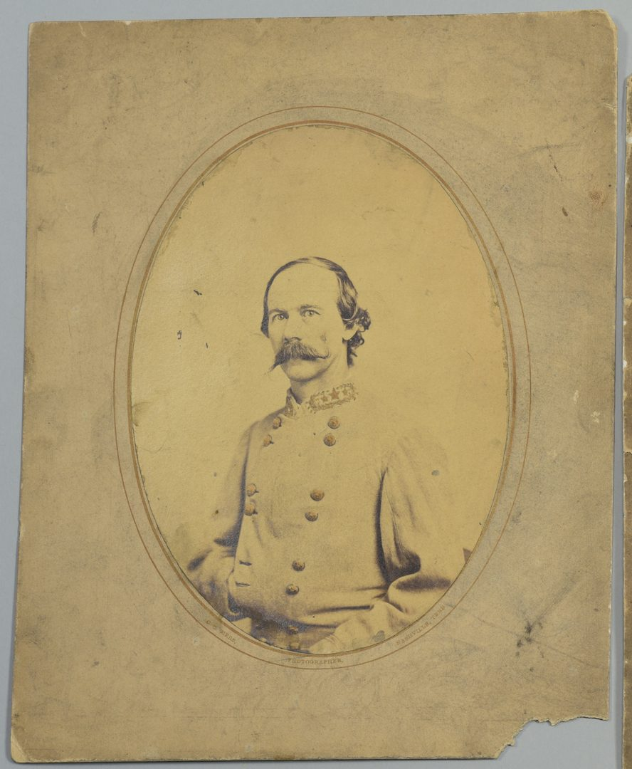 Lot 282: 4 Images of Confederates inc. Stonewall, Davis