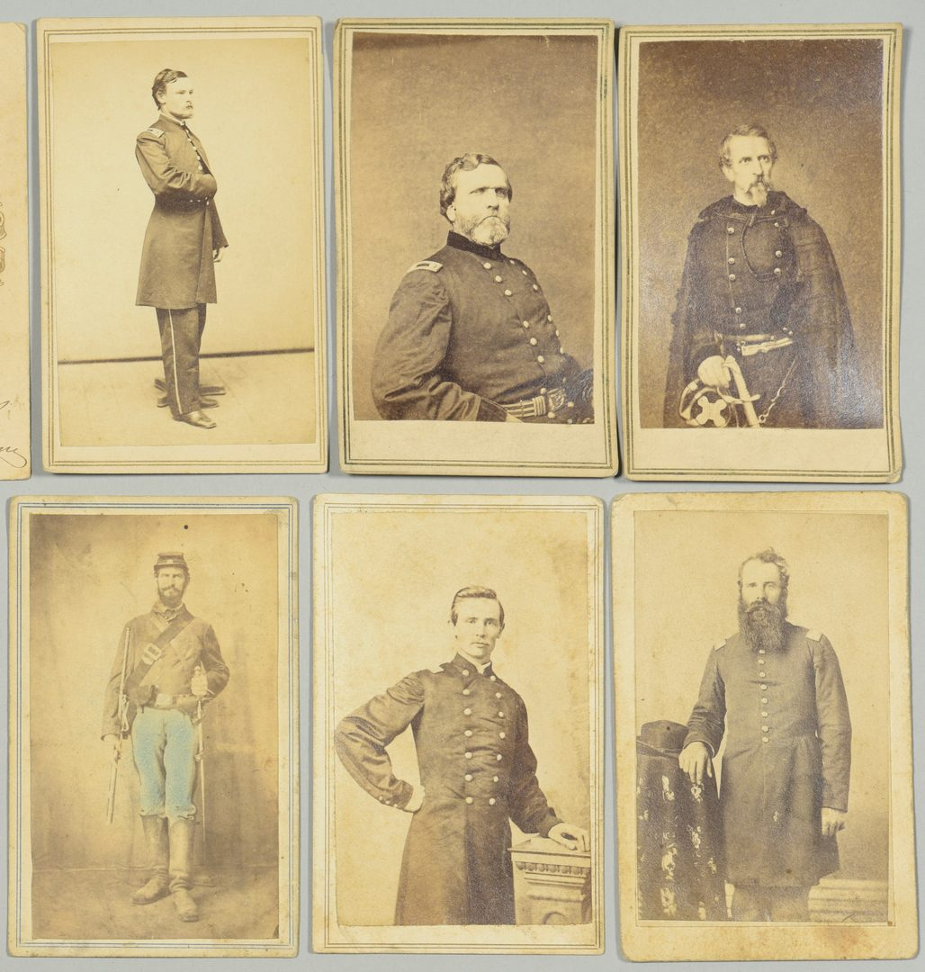 Lot 288: Group of 13 Civil War Related CDV Cards