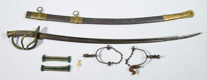 Lot 291: Confederate Civil War Items, John R. Zeigler