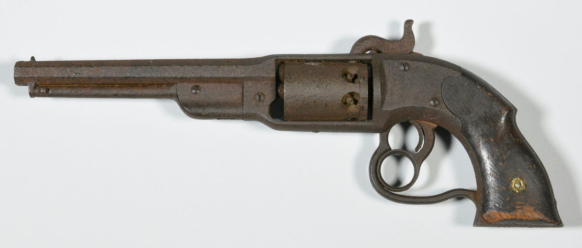 Lot 292: 2 Civil War Era Pistols, Devon Farm
