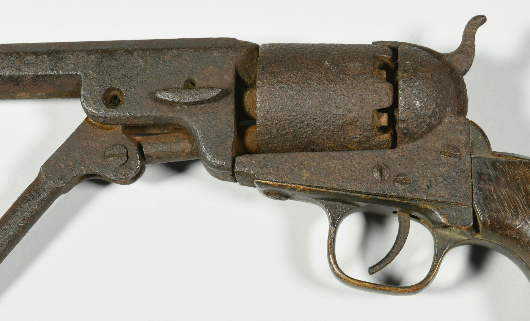 Lot 292: 2 Civil War Era Pistols, Devon Farm