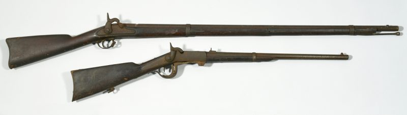 Lot 293: Burnside and Springfield Model 1861 Rifle, Devon Farm