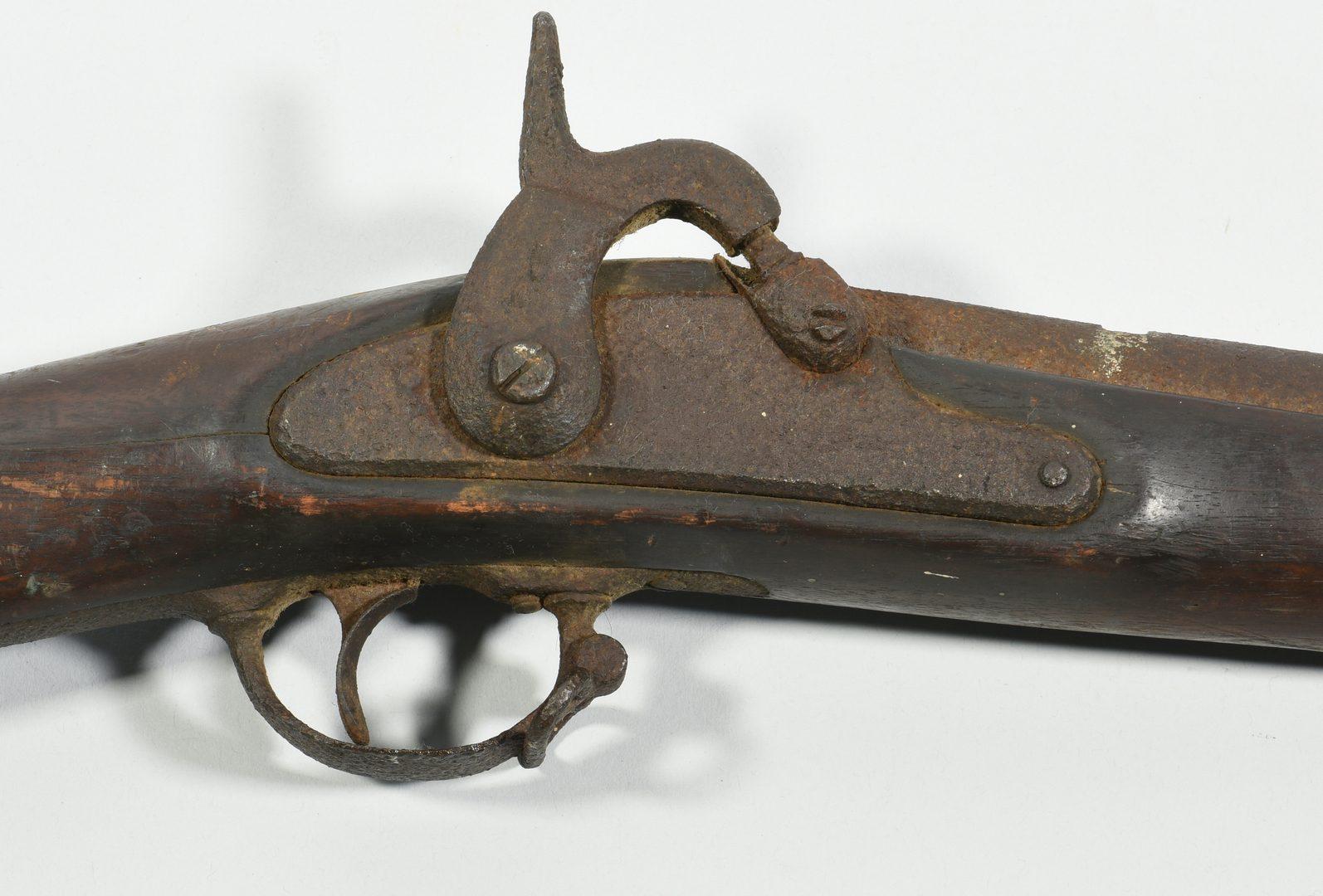 Lot 293: Burnside and Springfield Model 1861 Rifle, Devon Farm