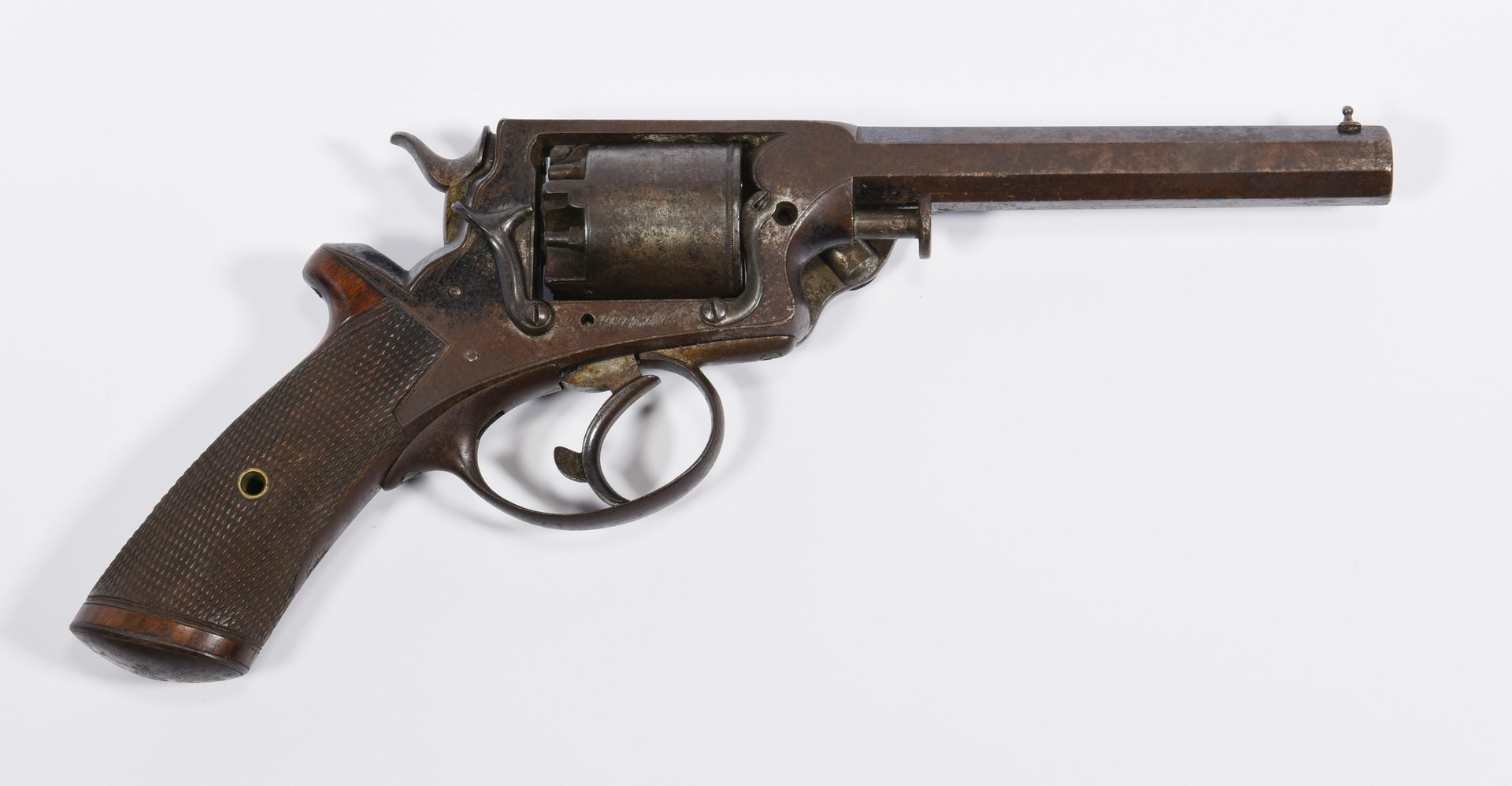 Lot 297: Tranter Revolver, Side Arm of Lt. Colonel Henry Clay Yeatman, Cased with Accoutrements