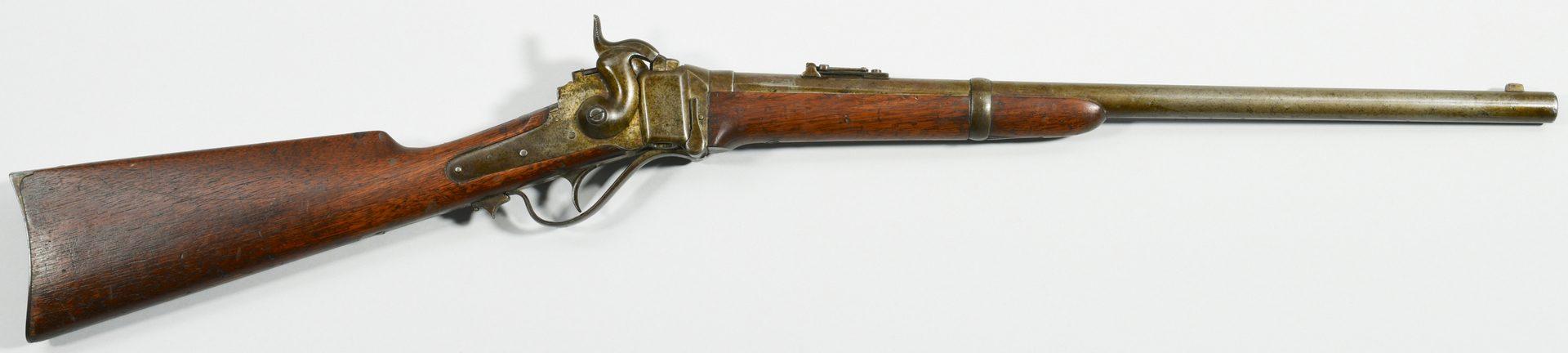 Lot 298: Sharps New Model 1859 Carbine, .52 Caliber