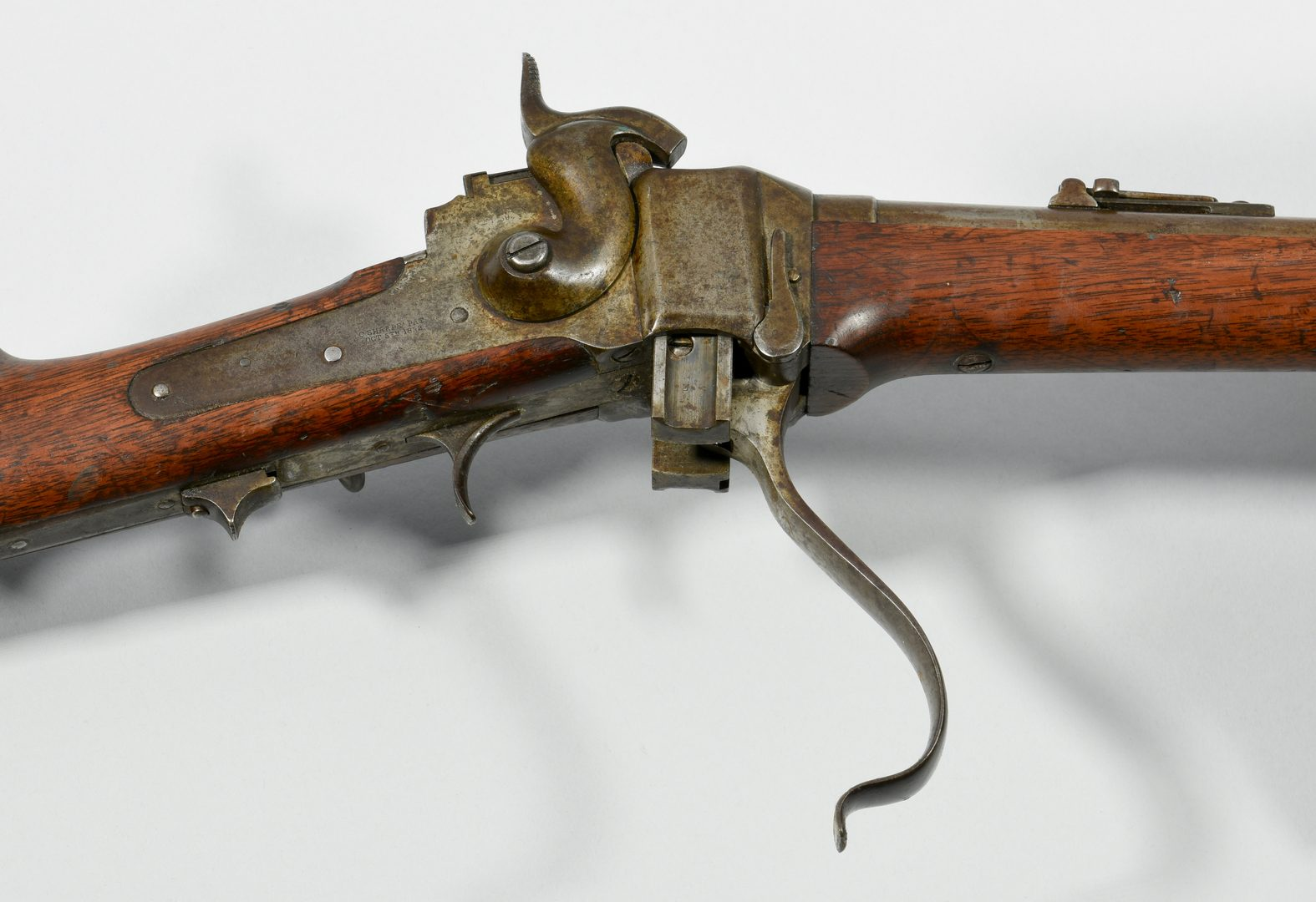 Lot 298: Sharps New Model 1859 Carbine, .52 Caliber