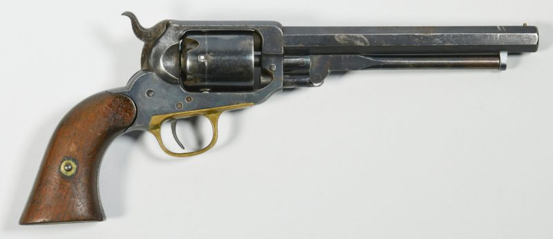 Lot 300: Eli Whitney 31 Caliber, 5 Shot Percussion Revolver