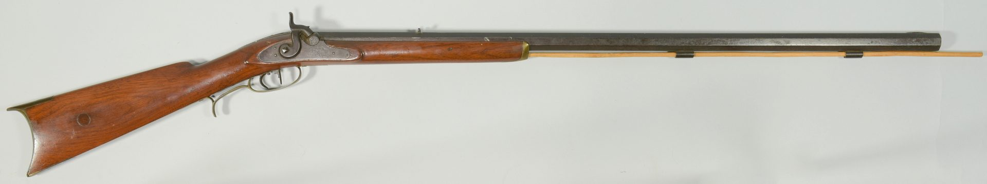 Lot 304: Halfstock Percussion Long Rifle, Tennessee