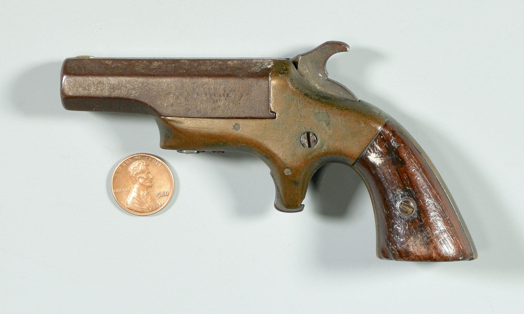 Lot 305: Brown Mfg., .41 Caliber Southerner Derringer