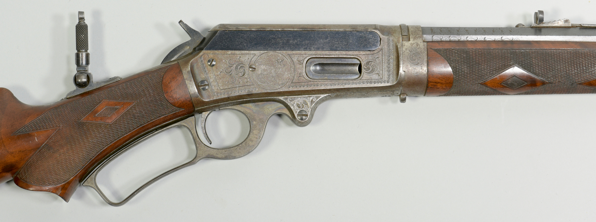 Lot 307 Marlin Special Order Deluxe Rifle Model 1893