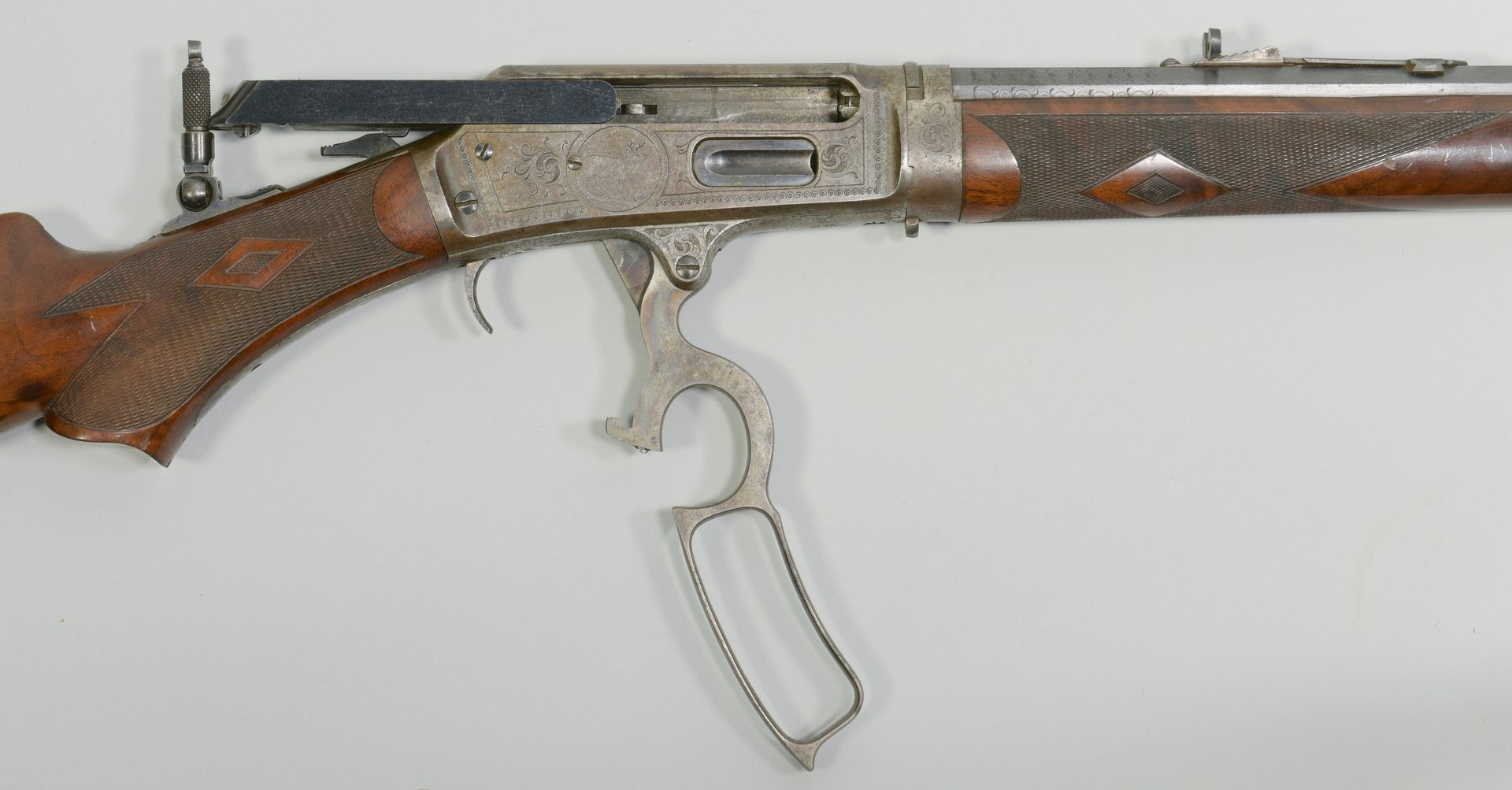 Lot 307: Marlin Special Order Deluxe Rifle, Model 1893