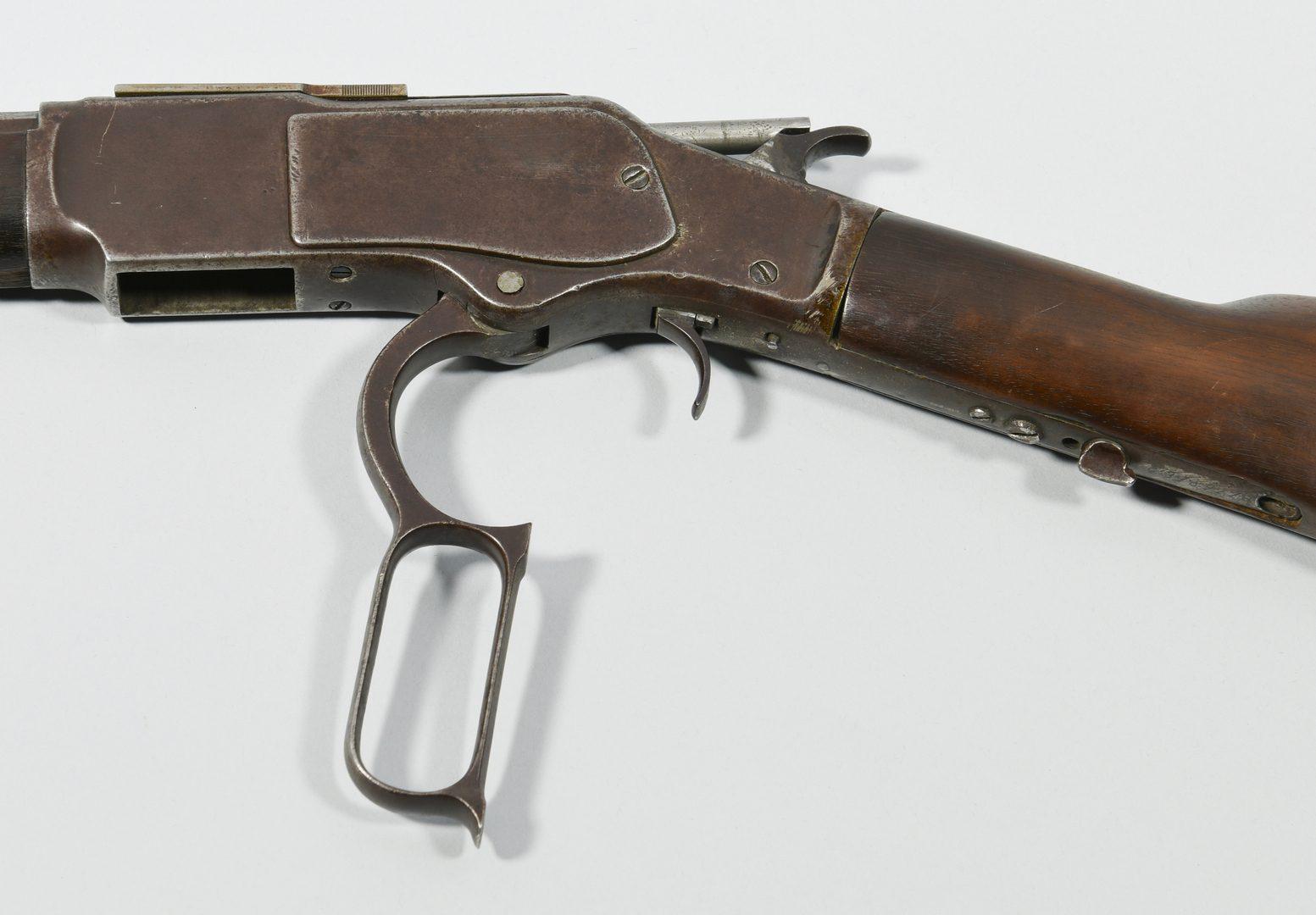 Lot 308: Winchester 1873 3rd Model Rifle, .32-.20 Caliber