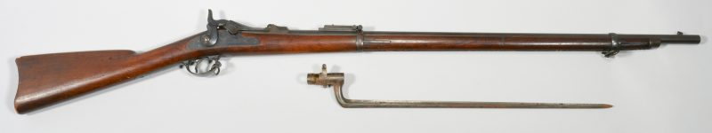 Lot 309: U.S. Model 1884 Springfield Rifle & Bayonet