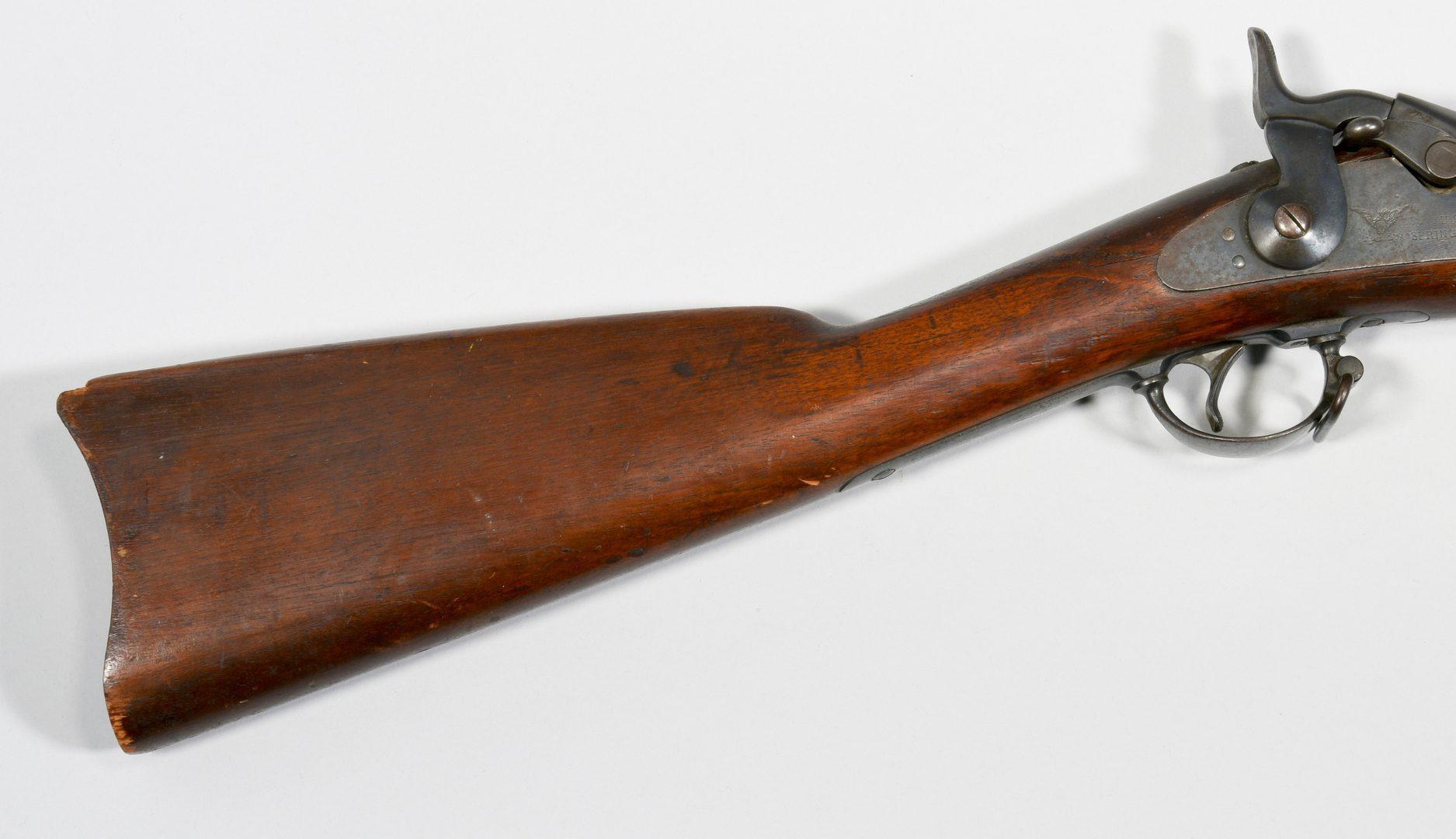 Lot 309: U.S. Model 1884 Springfield Rifle & Bayonet