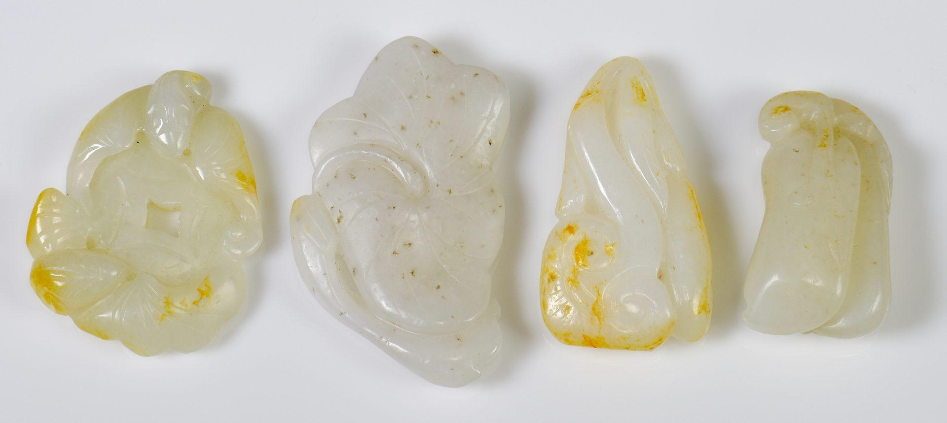Lot 321: 4 Chinese Jade Carvings