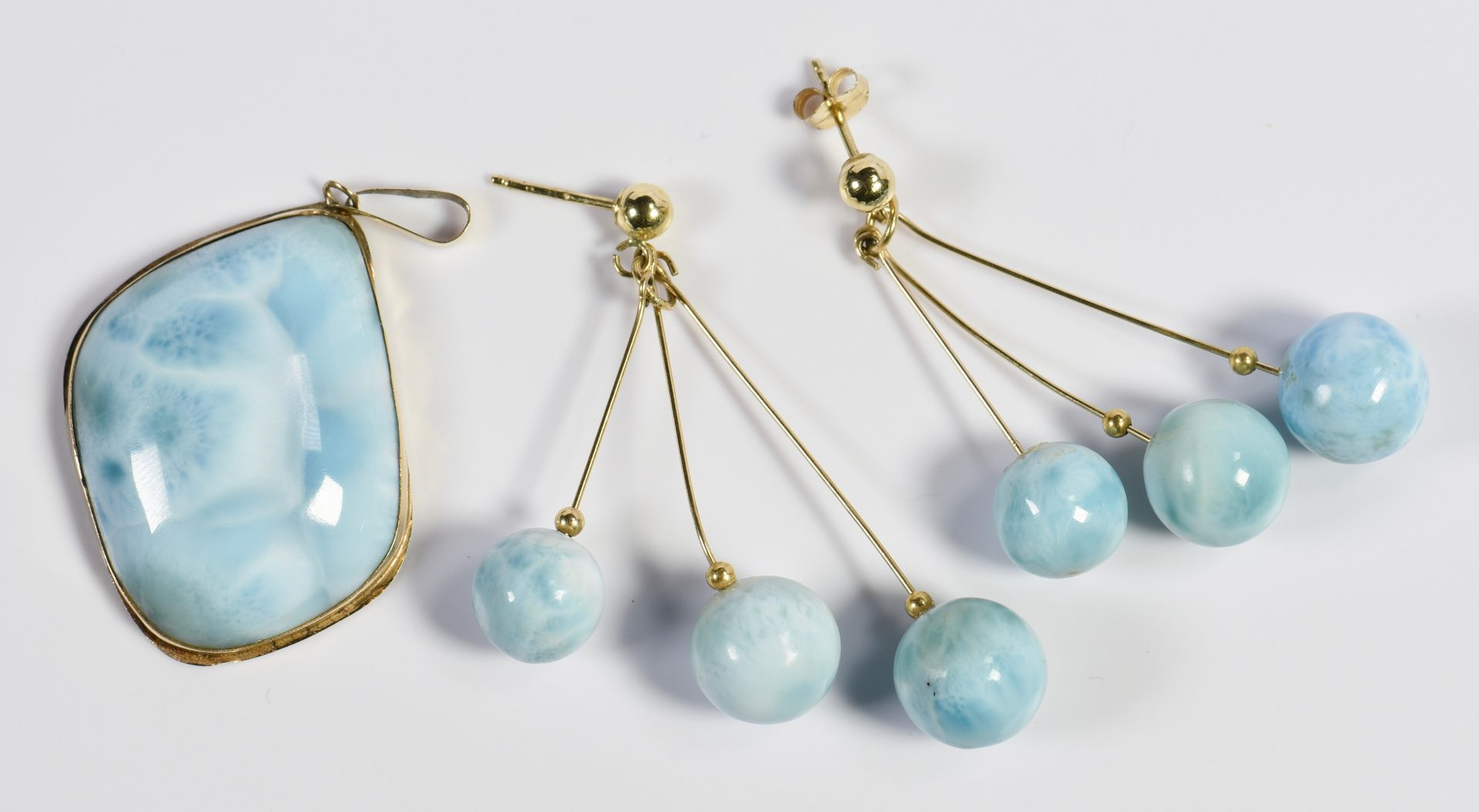 Lot 324: Group of Jade and Stone Jewelry