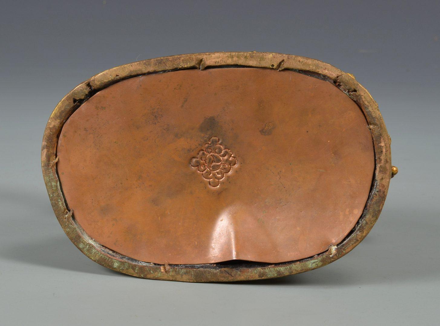 Lot 328: Sino-Tibetan Gilt Bronze Deity on Lion