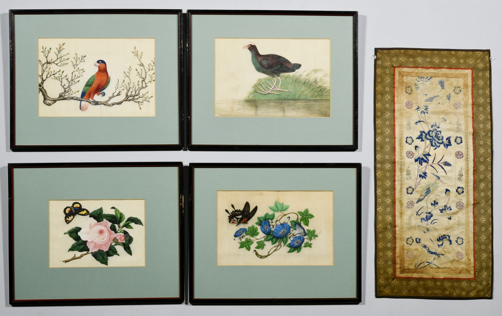 Lot 332: 7 Asian Artworks, incl. watercolors