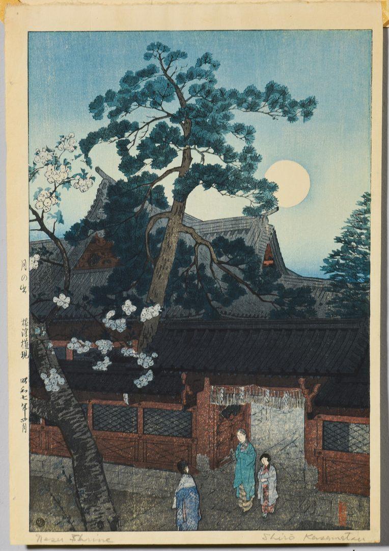 Lot 334: 2 Japanese Shin-hanga Prints