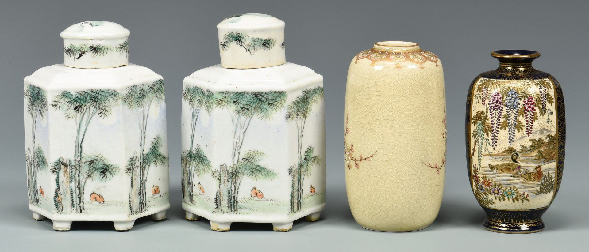 Lot 340: Assorted Group Japanese Porcelain, 10 items