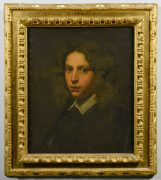 Lot 355: Continental School Portrait of Young Man, 17th/18th C., sold $41,300