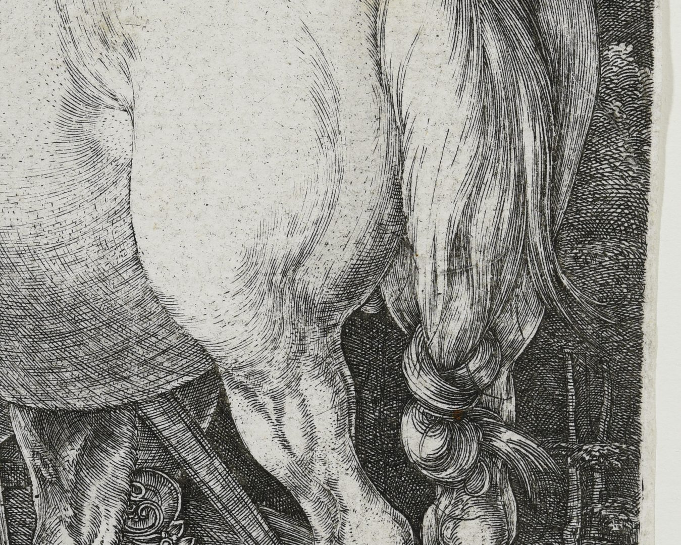 Lot 357 Albrecht Durer Quot The Large Horse Quot Engraving