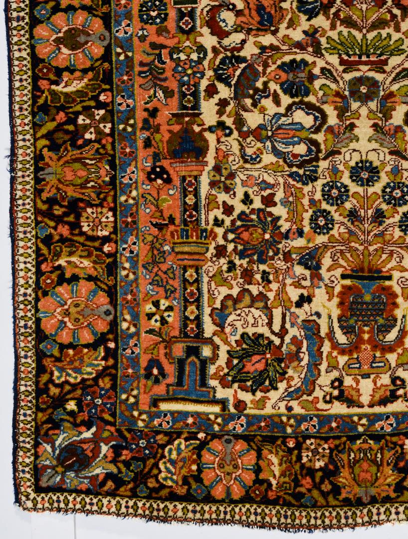 Lot 366 Antique Persian Sarouk Rug 3 5 Quot X 4 8 Quot