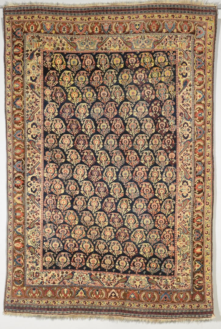 Lot 367: Antique Persian Qashqai area rug, 7'1' x 4'10""